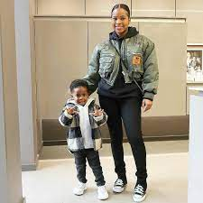 Paige Milian with her children