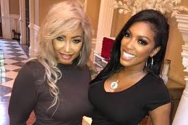 Porsha Williams with her mother