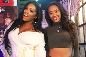 Porsha Williams with her sister