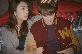 Alex MacNicoll with his girlfriend
