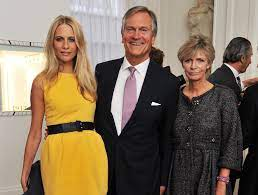 Cara Delevingne with her parents