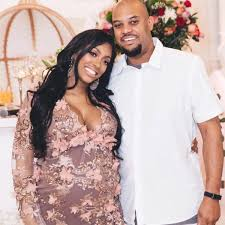 Porsha Williams with her brother