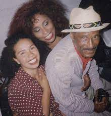 Chaka Khan with her father