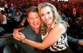 Tavia Shackles with her husband