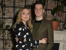 Connor Swindells with his girlfriend