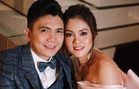 Tanya Bautista with her husband