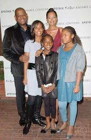 Keisha Nash Whitaker with her family