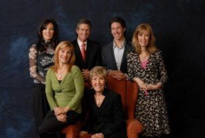 Joel Osteen with his family