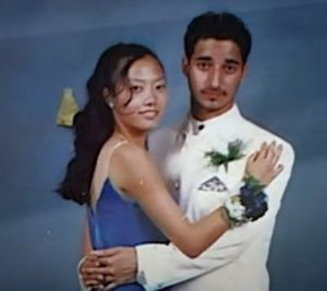 Adnan Syed with his girlfriend
