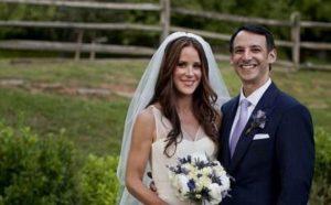 Ashley Biden with her husband