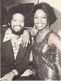 Gladys Knight with her boyfriend Barry