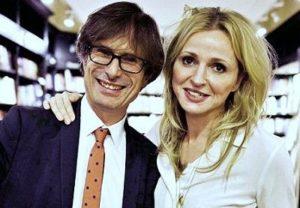 Charlotte Edwardes with her boyfriend