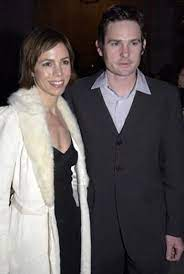 Henry Thomas with his ex-wife Kelly