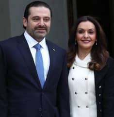 Lara Bashir with her husband