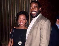 Gladys Knight with her boyfriend Les