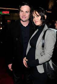 Henry Thomas with his ex-wife Marie