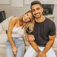 Naomie Olindo with her boyfriend Metul