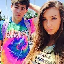 Taylor Alesia with her ex-boyfriend Mikey
