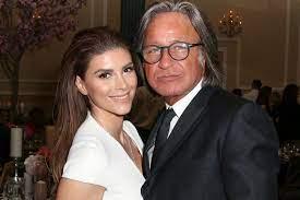 Shiva Safai with her ex-boyfriend Mohamed