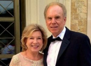Roger Staubach with his wife