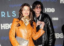 Ric Ocasek with his ex-wife Suzanne