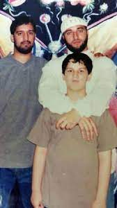 Adnan Syed with his brother