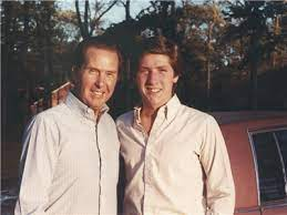 Joel Osteen with his father