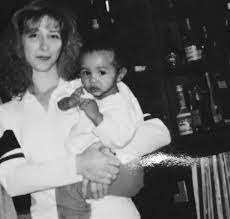 Frankie Shebby with her mother