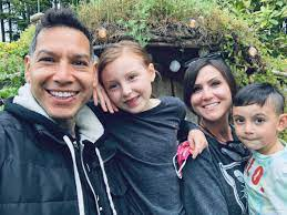 Holli Herrera with her husband & kids