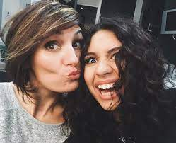 Alessia Cara with her mother