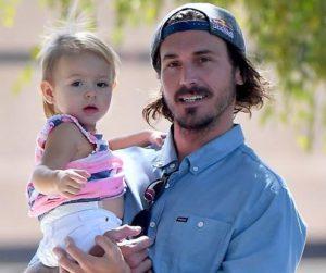 Corey Bohan with his daughter