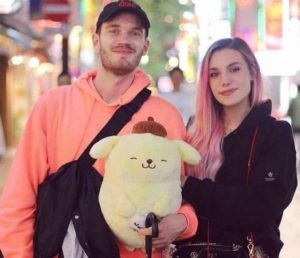 Marzia Bisognin with her husband
