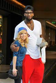 Jennette McCurdy with her ex-boyfriend Andre