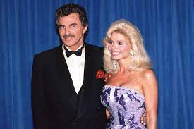 Loni Anderson with her ex-husband Burt