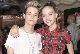 Jayden Bartels with her ex-boyfriend Connor