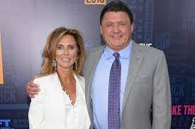 Kelly Orgeron with her husband Edward James