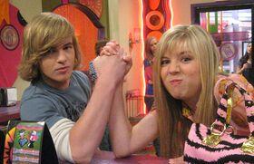 Jennette McCurdy with her ex-boyfriend Graham