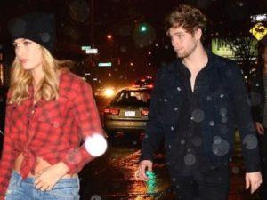 Luke Hemmings with his ex-girlfriend Hailey