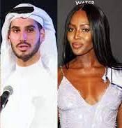 Naomi Campbell with Hassan Jameel