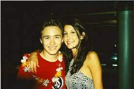 Trent Olsen with his ex-girlfriend Katherine