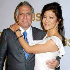 Julie Chen with her husband