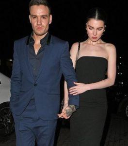 Liam Payne with his wife  Maya