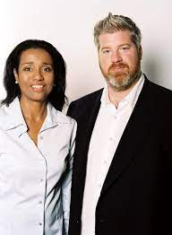 Suzanne Kay with her ex-husband