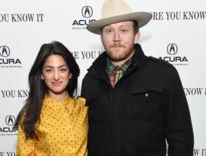 Ayden Mayeri with her husband