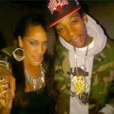 Wiz Khalifa with his ex-girlfriend Natalie