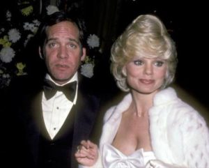 Loni Anderson with her ex-husband Ross