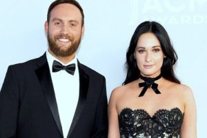 Ruston Kelly with his wife