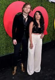 Luke Hemmings with his girlfriend Sierra