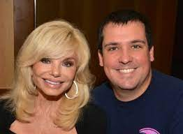 Loni Anderson with her son