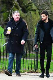 Liam Payne with his father